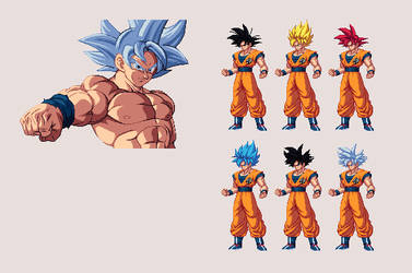Goku [UPDATED]   Dragon Ball Z: Extreme Butoden