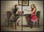Stepford Dolls - Diptych by darkctyle