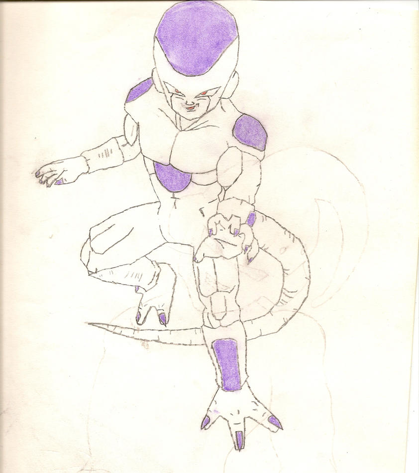 Lord Frieza final form by armor-dragon-knigth2 on DeviantArt