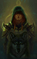 Emerald knight by DGrayfox