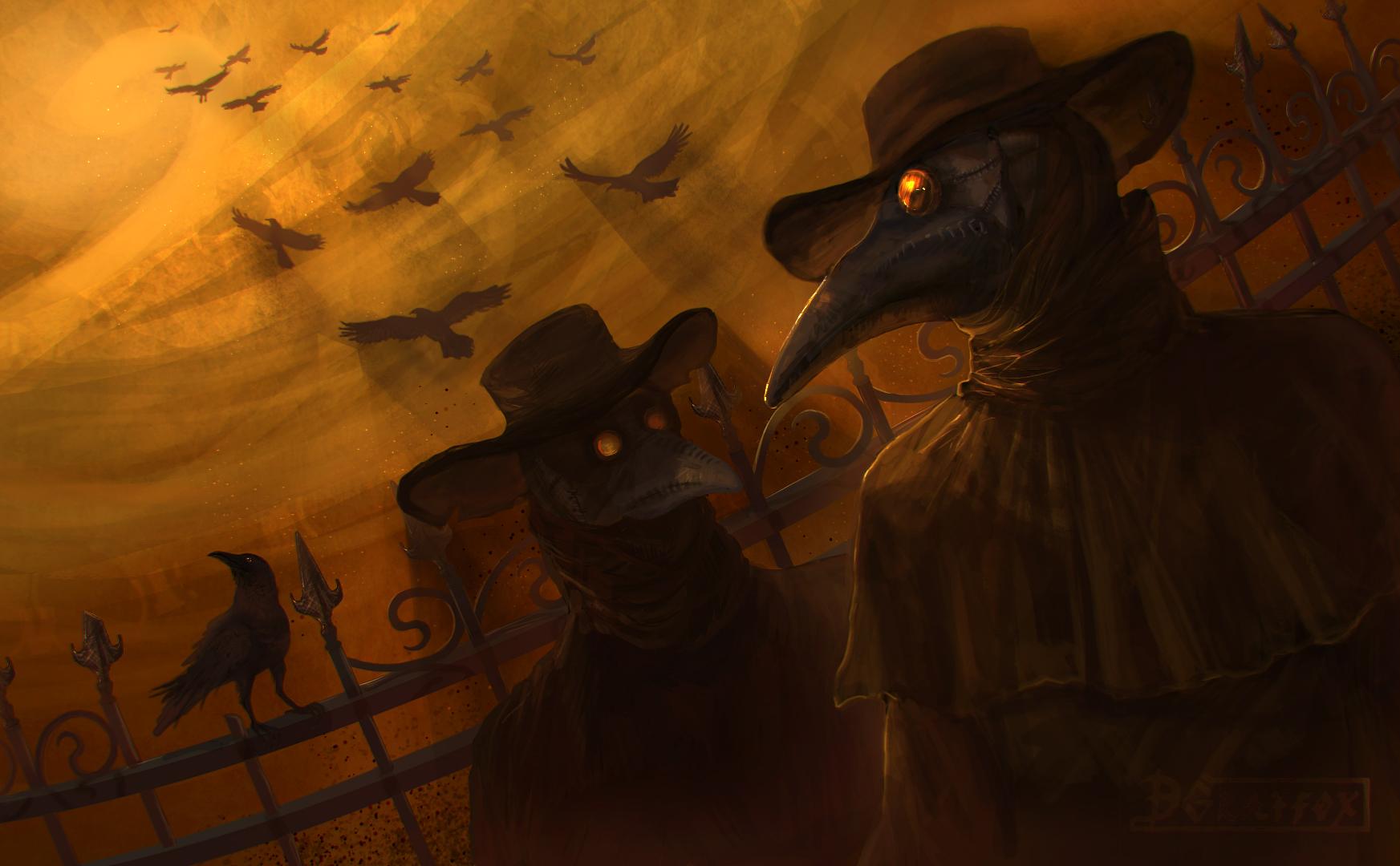 Plague doctor by DGrayfox