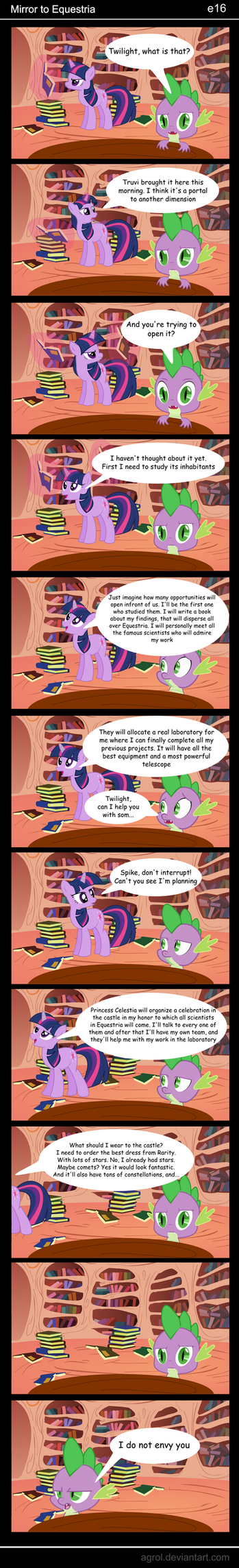 Mirror to Equestria e16 by Agrol