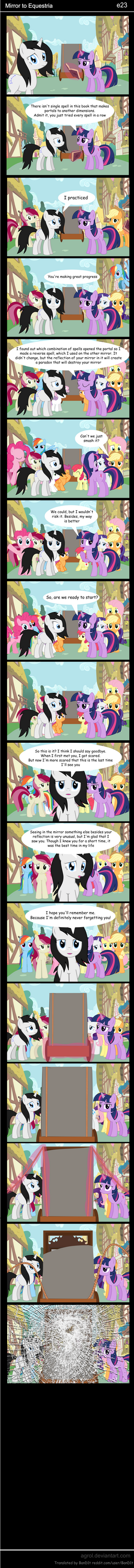 Mirror to Equestria e23 by Agrol