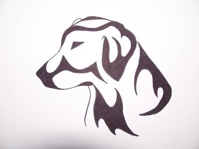 top labrador retriever tattoo designs images for pinterest tattoos. Black Bedroom Furniture Sets. Home Design Ideas