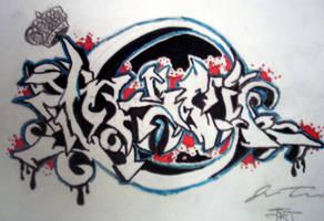 graffiti by djammo007