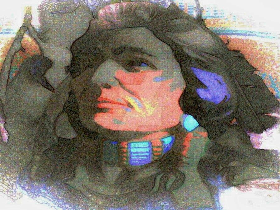 Pastel Native American by StaceyCanis