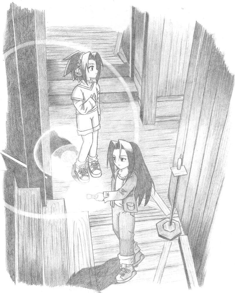 HaoxYoh in Fatal Frame II by Oyamada-Manta