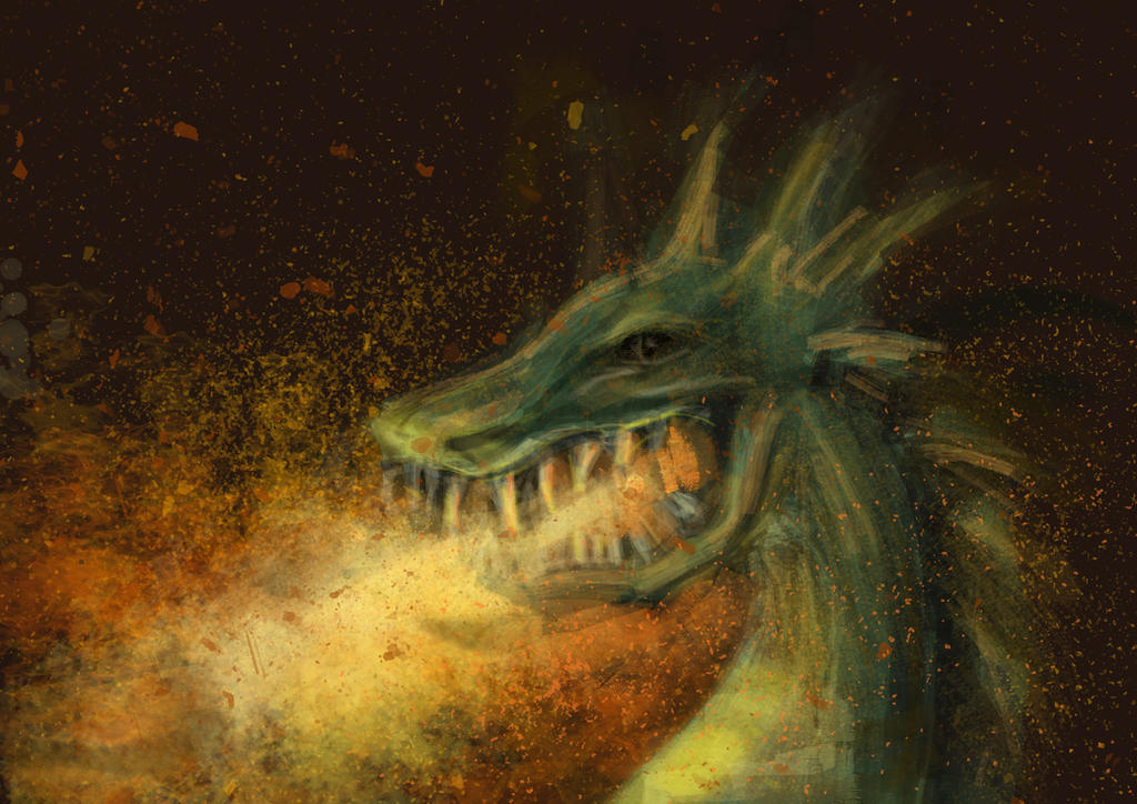 [A] Dragon by Breshkka