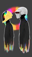 Daft Punk by HydrofluoricRain
