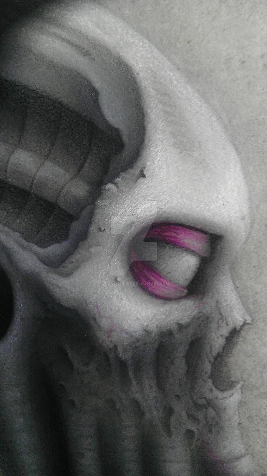 cthulhu thing detail by judas-christ