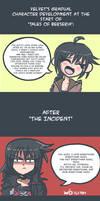 Velvet's Character Development by SG-Karuta