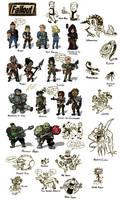 Fallout Chibi