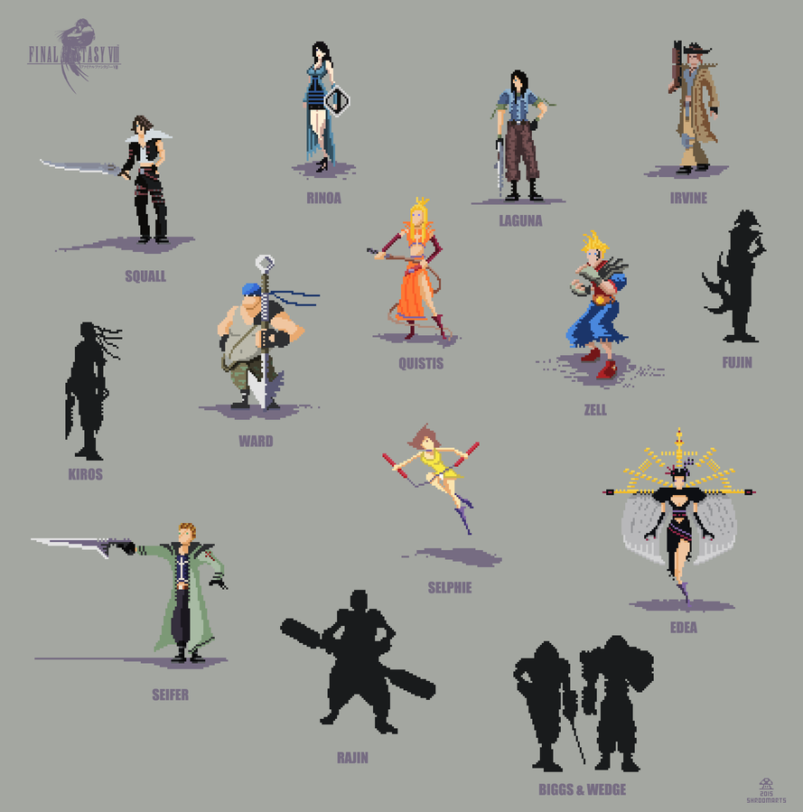 Final Fantasy 8 by ShroomArts