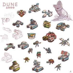 Dune 2000 Units