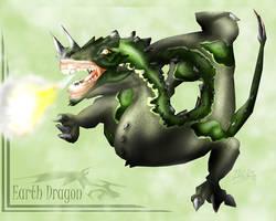 Earth Dragon -STUDY- by Sathiest-Emperor