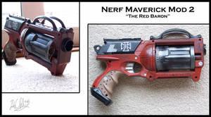 Nerf Maverick Mod 2