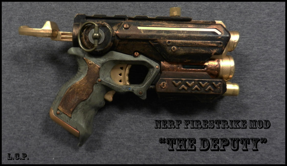 Nerf Firestrike Mod: The Deputy by Sathiest-Emperor ...