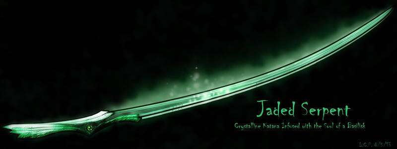 Weapon Design: Jaded Serpent