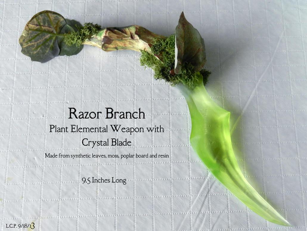 Prop Blade: Razor Branch by Sathiest-Emperor