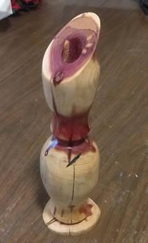 Aromatic Cedar Vase 1