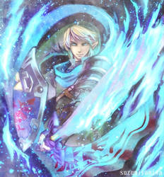 Hyrule Warriors Link by suzumiyamisa