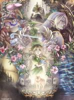 Hero of Time / Hero's Shade by suzumiyamisa