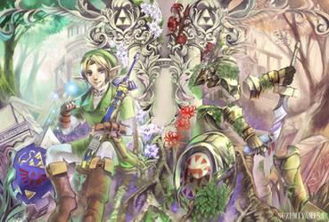 Hero's Shade doujinshi cover by suzumiyamisa
