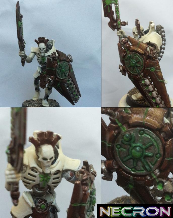 Warhammer 40K - Necron Lychguard by godjano
