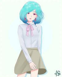 Unkai - Tae Character drawing