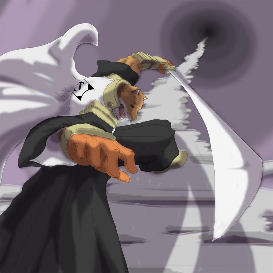 Komamura - Raise Your Sword by reclamon
