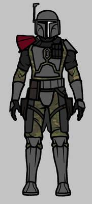 mandalorian character unfinished