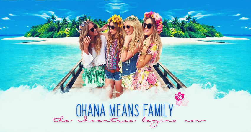 OHANA MEANS FAMILY™