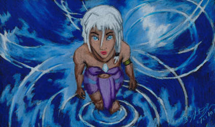 Kida in the Crystal Cave 3