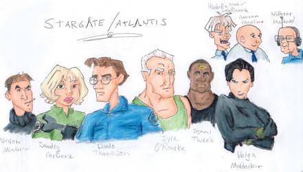 Crossover: SG1-Disney Atlantis