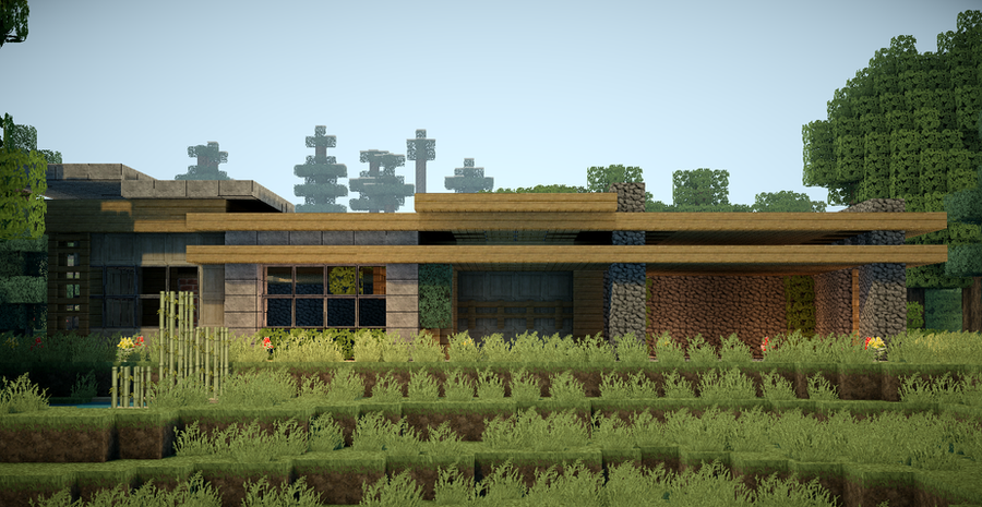 Minecraft Modern Survival House By Andrewvtw On DeviantArt - Cool minecraft houses survival