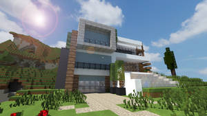 Modern House Render 3