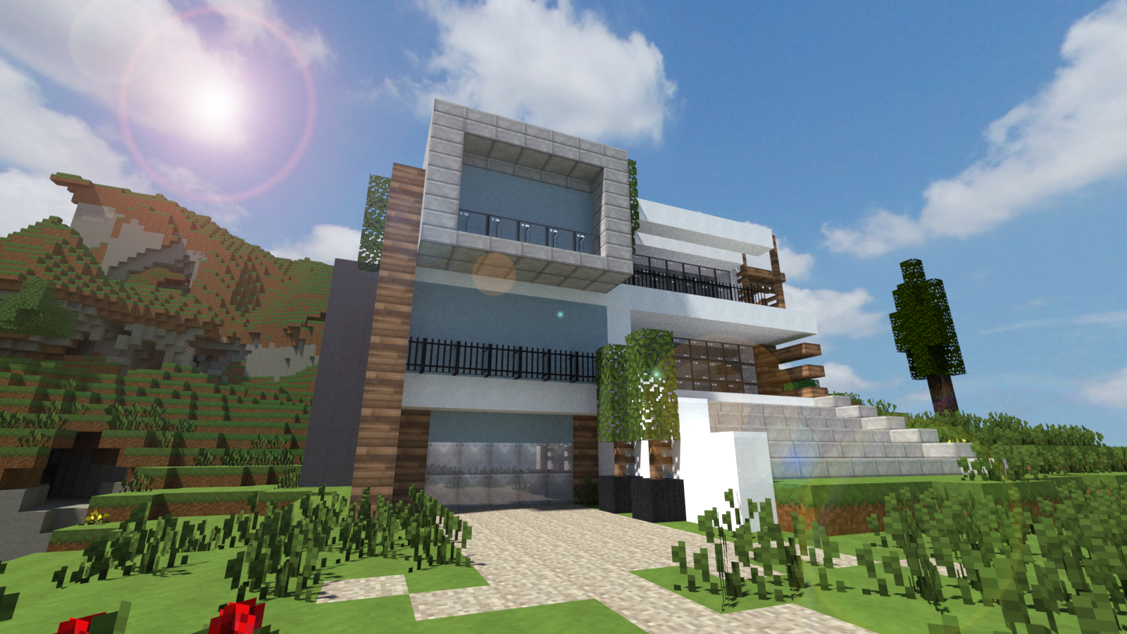 Modern House Render 3 by andrewvtw on DeviantArt