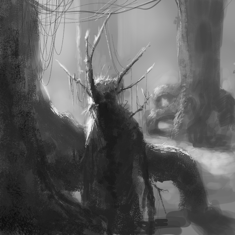 Swamp Creature by ScathSiorai