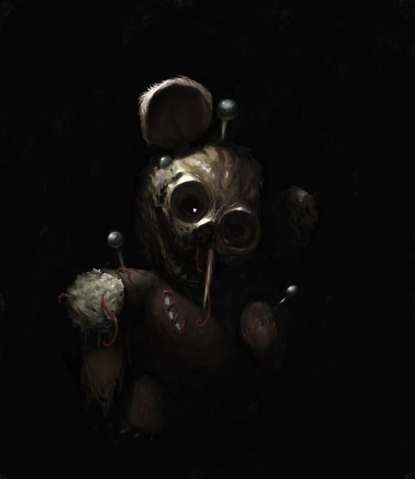 Voodoo Bear by ScathSiorai