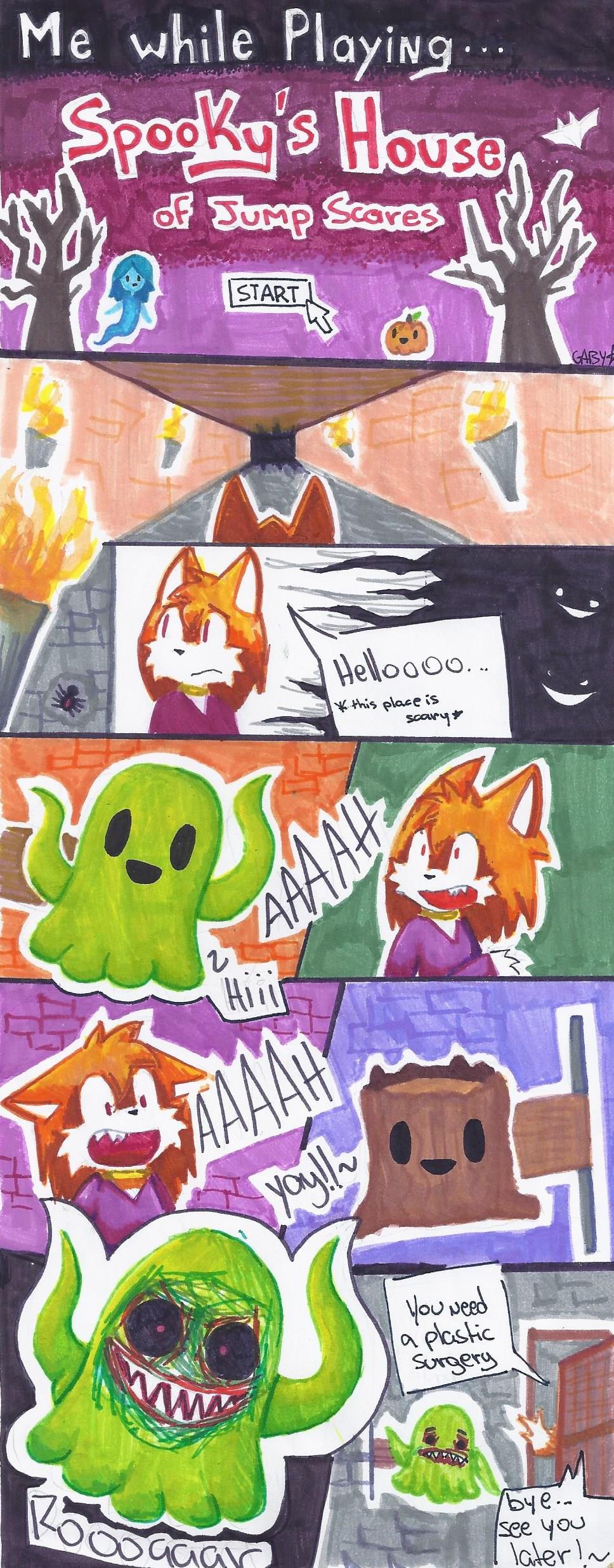 Spooky s house of jump scares by marcelinethekiller on deviantart