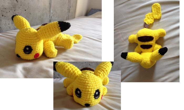 Amigurumi Patterns Pikachu : Amigurumi pikachu by caterpillor on deviantart