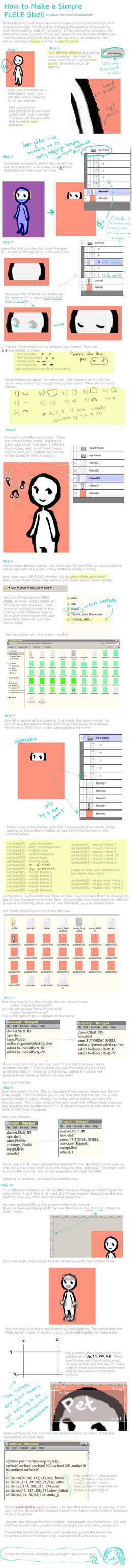 How to Make a FLELE Shell by rimirinchan