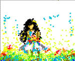 Fields of Flowers - Scatter Paint by rimirinchan