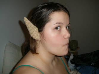 Crochet Elf Ears by nekokoneko92