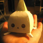 Gaia ZOMG Garlic papercraft