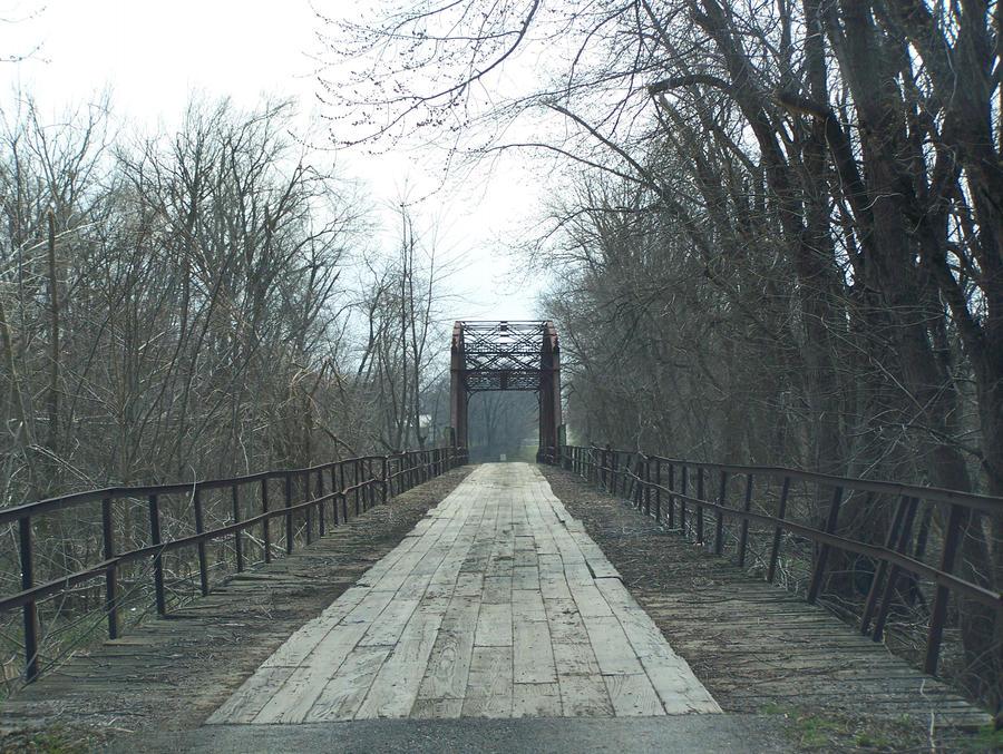 bridge landscape stock