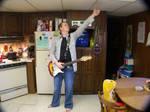 guitar hippy stock