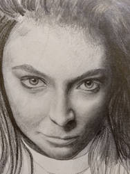 Unfinished Drawing, Lorde by Static-117