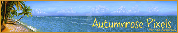 AutumnRose Site banner by Dolaria