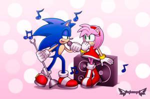 Sonic sing by lissfreeangel